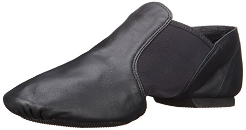"Capezio Women's ""E"" Series Jazz Slip-On,Black,6 M US"