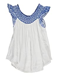 "Derek Heart Big Girls' ""Crinkled & Shirred"" Top"