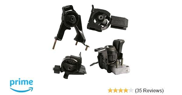 Amazon.com: 4pcs Motor Mounts Set Kit for Toyota Corolla (03-08), Matrix (03-06), Pontiac Vibe (03-07) - 1.8L 4Cylinder Automatic Transmission - Engine ...