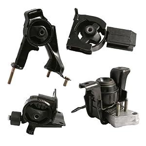 4pc motor engine mounts set kit for toyota. Black Bedroom Furniture Sets. Home Design Ideas