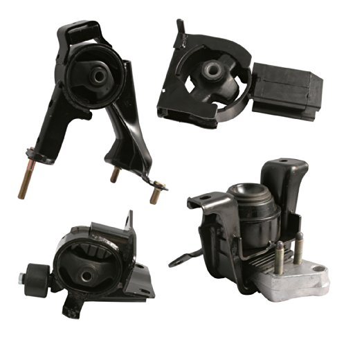 (4pc Motor Mounts Set Kit for Toyota Corolla (03-08), Matrix (03-06), Pontiac Vibe (03-07) - 1.8L 4Cylinder Automatic Transmission - Engine Mounts, all motor mounts toyota matrix 2003)