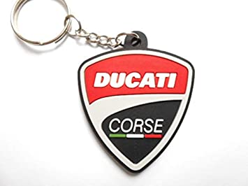 Llaveros - Ducati Corse, con logotipo, de motocros ...