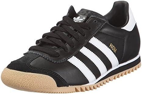 Adidas Rom - Scarpe da Ginnastica Bianche e Nere - Nero / Bianco, Eu 46
