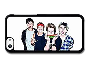 Diy iPhone 6 plus Accessories 5 Seconds Of Summer Funny Faces Watermelon Boyband case for iPhone 6 plus