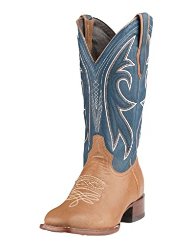 Stetson Western Boots Mens Sottopiede Di Poron 12 Ee Tan 12-020-1850-0102 Ta