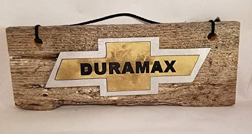 (Wood Plaque Decor Duramax Wood Sign Hand Painted Wall Hanging Wooden Sign)