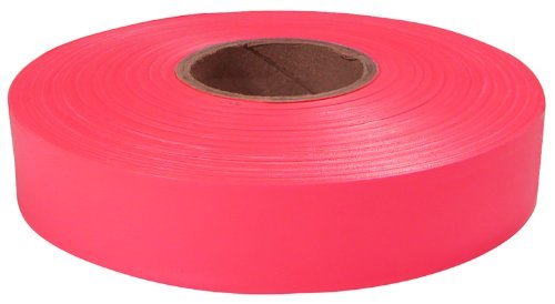 (Empire Level 77-063 Flagging Tape, Pink, 600-Feet by 1-Inch)