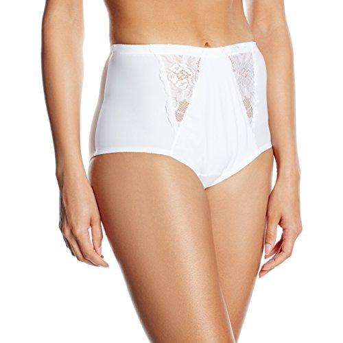 Jolidon Culotte Taille Haute Calendula Lady Classic, Braguita para Mujer blanco