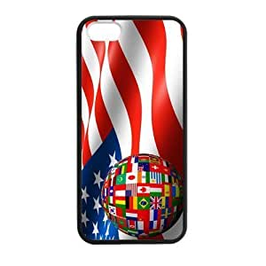 2014 World Cup USA American Flag Case for iPhone 5 5s case
