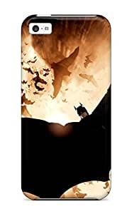 Iphone High Quality Tpu Case/ 2012 Batman Movie HTVufbp1248jhMMF Case Cover For Iphone 5c