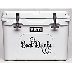 Elegant Scoll Name or Saying Decal Sticker for Laptops Dorms Cars Yeti RTIC Ozark Coolers Tumblers or Cups