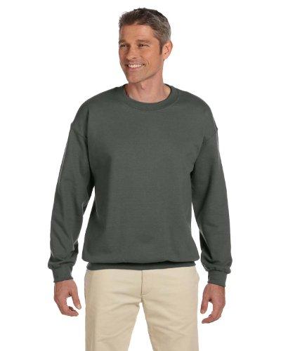Gildan Men's Heavy Blend Crewneck Sweatshirt - XXX-Large - Military ()