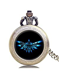 Men's Pocket Watches, Legend of Zelda Watches, New Arrival Quartz Theme Design Pocket Watch, Cartoon Style Gift for Men