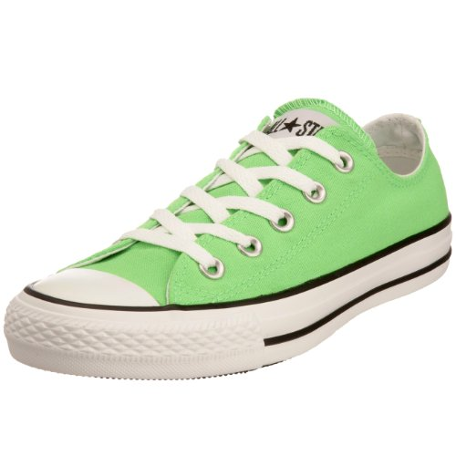 Converse Chuck Taylor All Star Season OX, Unisex Sneaker Neon Green