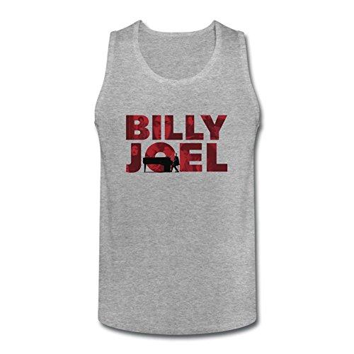 MINNRI Men's Billy Joel The Hits Tank Top 100% Cotton