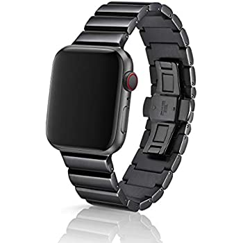 42/44mm JUUK Ligero Obsidian Premium Watch Band Made for The Apple Watch, Using Aircraft Grade, Hard Anodized 6000 Series Aluminum with a Solid ...