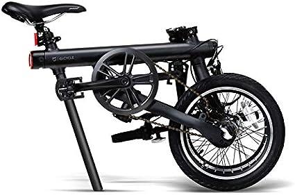 SHIJING 16inch Origina Bicicleta eléctrica Qicycle Mini E-Bici eléctrica Bicicleta Plegable Inteligente batería de Litio Internacional versión ebike