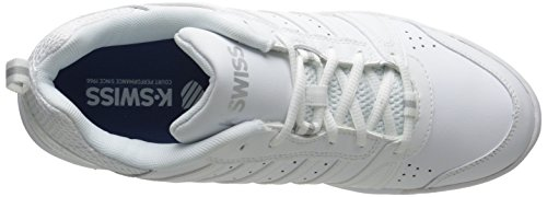 155 white white Baskets Ii Tfw swiss Performance Ks Tennis De Femme Blanc silver m K Vendy silver 6awpRfanq