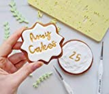 Sweet Stamp by AmyCakes Plastic Letters in