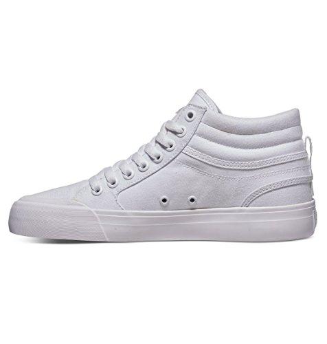 Dc Evan Shoes Adjs300178 Blanc Baskets Hi Tx Pour Femme White qPq6w