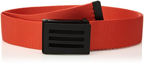 adidas Golf Webbing Belt, Blaze Orange, One Size (Golf Belt Taylormade)
