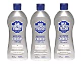 Bar Keepers Friend Multipurpose Cooktop Cleaner (13 oz) - Liquid Stovetop Cleanser - Safe for Use on Glass Ceramic Cooking Surfaces, Copper, Brass, Chrome, and Stainless Steel - Pack of 3