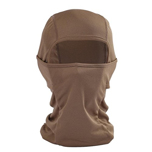 Price comparison product image Binmer(TM) Outdoor Sports Headgear Warm Scarf Quick-drying Fabric Hat Tactical Mask (Coffee)