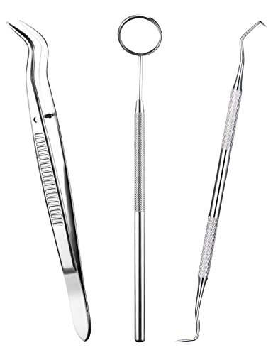 ElleSye Dental Tools, 3-PACK Dental Hygiene Tool Kit, Mouth