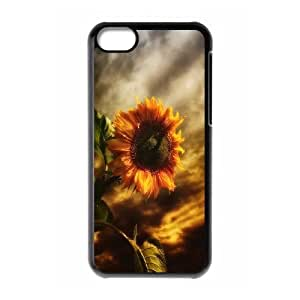 Sunflower Brand New Cover Case for Iphone 5C,diy case cover ygtg562994