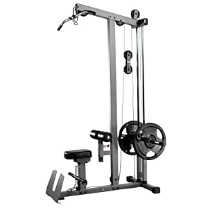 Amazon.com : XMark Lat Pulldown and Low Row Cable Machine