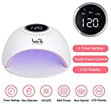 Urvoix Gel UV LED Nail Lamp - 84W Nail Dryer