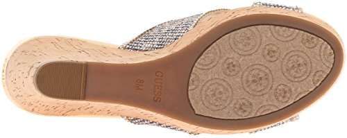 Leather Special Eleonora4 Sandals Guess Natural Platform Open Womens Toe Occasion wUCqEX