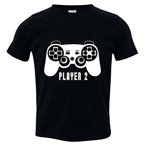 Texas Tees Gamer Shirts For Little Brother, Player 2 T-Shirt, Includes Small Adult Shirt