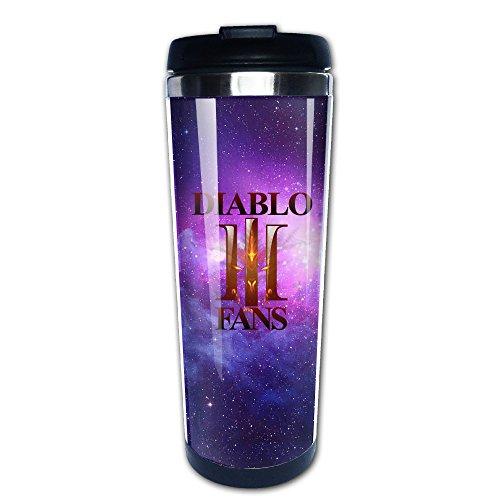 [Diablo 3 Fathom Studios Fans Logo Stainless Steel Mug / Coffee Thermos / Vacuum Flask] (Diablo Reaper Of Souls Costume)