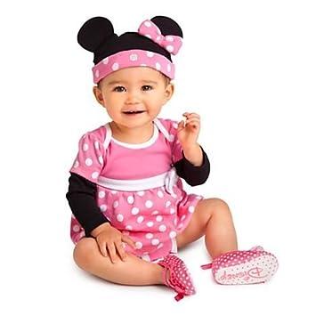 Amazon.com: Juego de 2 Disney, color rosa disfraz de Minnie ...