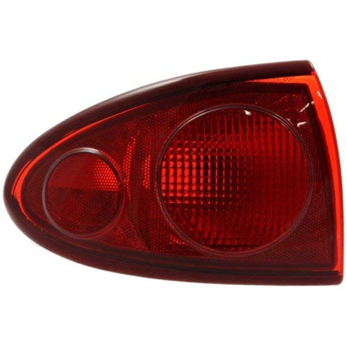 Tail Light Compatible with CHEVROLET CAVALIER 2003-2005 LH Outer Lens and Housing