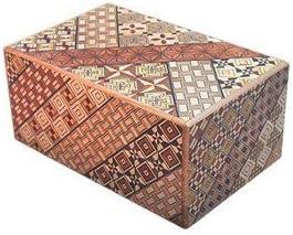 Yosegi Puzzle Box 5 sol 10 pasos por cajas de Puzzle japonesa: Amazon.es: Hogar