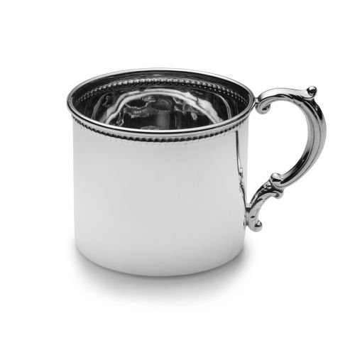 EMPIRE Bead Design Sterling Baby Cup by EMPIRE
