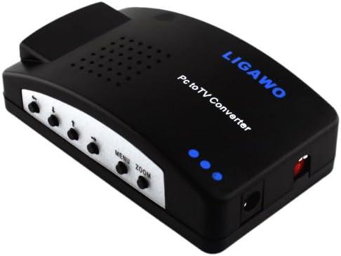 Ligawo ® PC TV Convertidor + Conecte ordenadores, ordenador ...