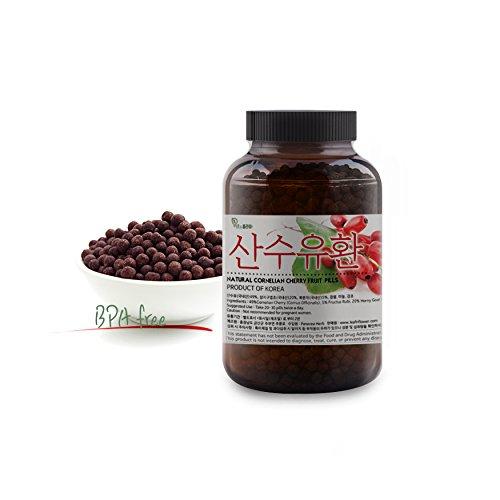 [Korean Herbal Pills] 100% Natural Cornelian Cherry Fruit ( Cornus) Pills / 산수유 환 5oz (142g)