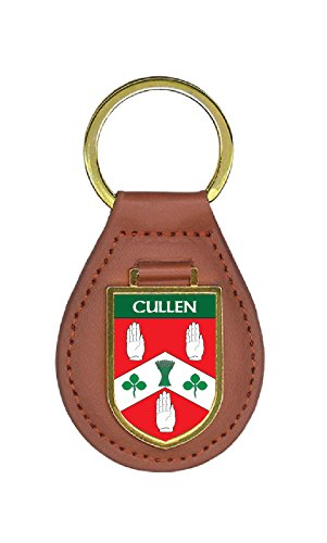 Cullen Family Crest Coat of Arms Total Key Chains