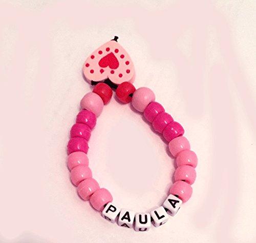 Babyarmband - Namenskette - Geburtsarmband - Taufarmband - Armband mit Namen - für Mädchen