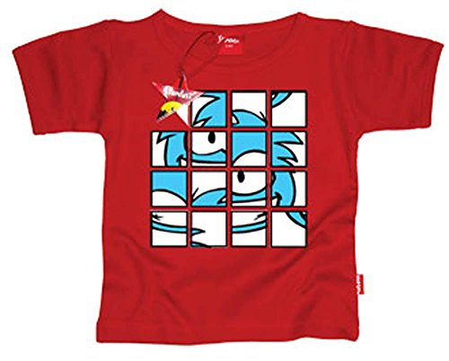 (Puffle Puzzle T-shirt - Electric 7 - 8 Years )