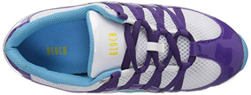 Purple Bloch Wave Shoe Women's Multi Dance IIvHq