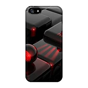 High Quality Wdb2963MhMX 3d Black Tpu Cases For Iphone 5/5s