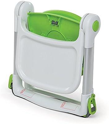 Foppapedretti 9700358201 trona infantil Trona alzador Asiento duro Verde - Silla alta (Trona alzador, Asiento duro, Verde, Estampado, 3 mes(es), 2 kg)