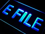 efile E File Tax Service LED Sign Neon Light Sign Display i273-b(c)