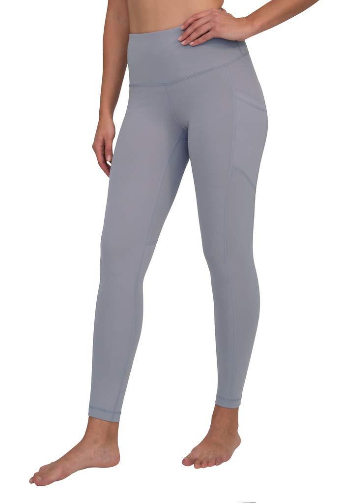 90 Degree By Reflex Women's Power Flex Yoga Pants - Winter Violet - XL by 90 Degree By Reflex