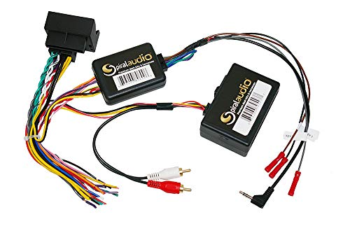 Mercedes R-Class 2006-2013 Interface with SWC and Fiber Optic Retention