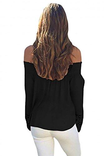 sleekwear - Camiseta de manga larga - Básico - para mujer
